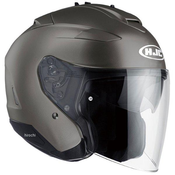 エイチジェイシー HJC ジェットヘルメット IS-33ソリッド セミフラットチタニウム Mサイズ(57-58cm) HJH120GM01M HD店