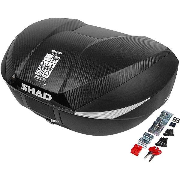 【メーカー在庫あり】 シャッド SHAD SH58X トップケース カーボン D0B58106 HD店
