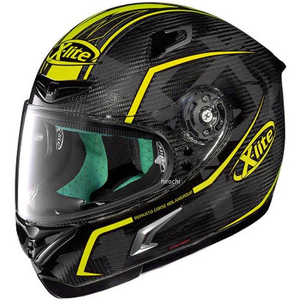 【メーカー在庫あり】 X-802RR ノーラン NOLAN フルフェイスヘルメット X-LITE ウルトラカーボン マーケトリー 黄 Mサイズ 95588 HD店