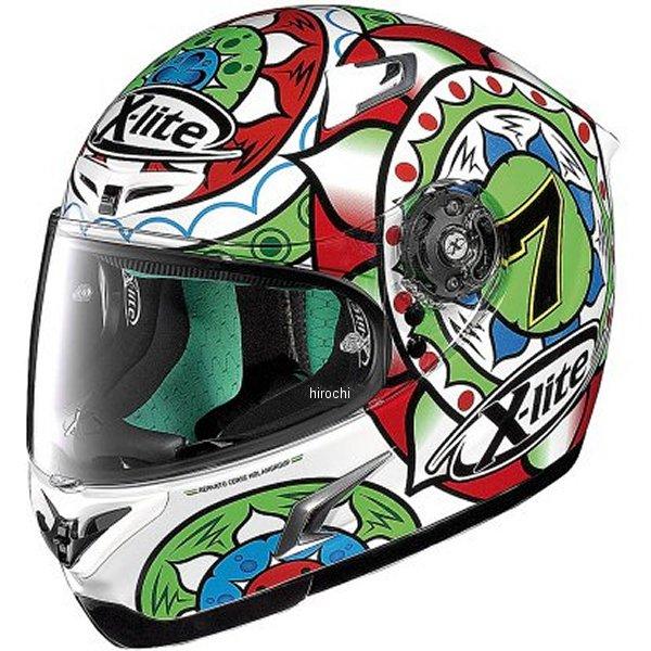 【メーカー在庫あり】 X-802RR ノーラン NOLAN フルフェイスヘルメット X-LITE デイビス イモラ コルサ赤 Lサイズ 95601 HD店