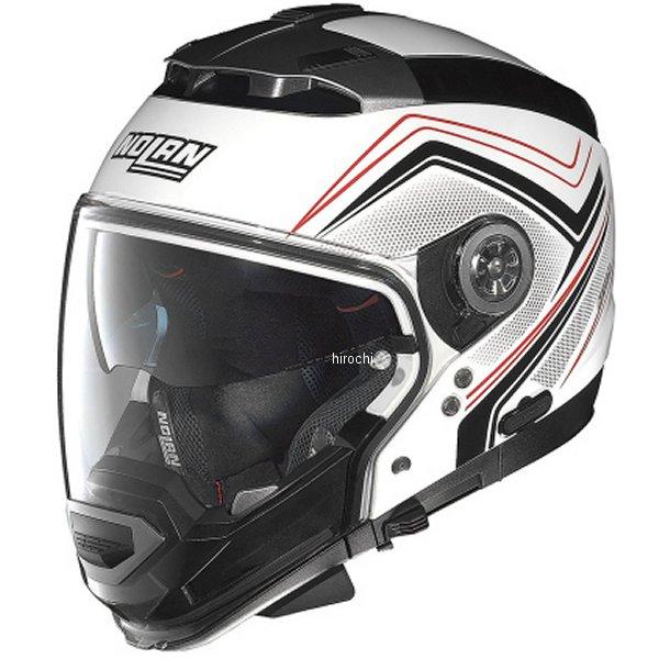 【メーカー在庫あり】 N44 ノーラン NOLAN フルフェイスヘルメット EVO COMO メタル白 Mサイズ 95851 HD店