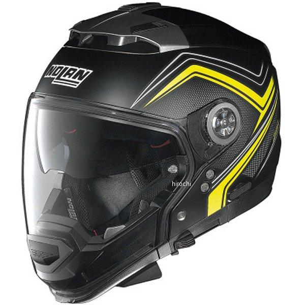 N44 ノーラン NOLAN フルフェイスヘルメット EVO COMO フラットブラック/黄 Mサイズ 95855 HD店