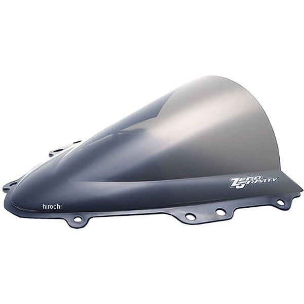 ゼログラビティ ZERO GRAVITY スクリーン ダブルバブル 04年-05年 GSX-R750、GSX-R600 スモーク 1610802 HD店