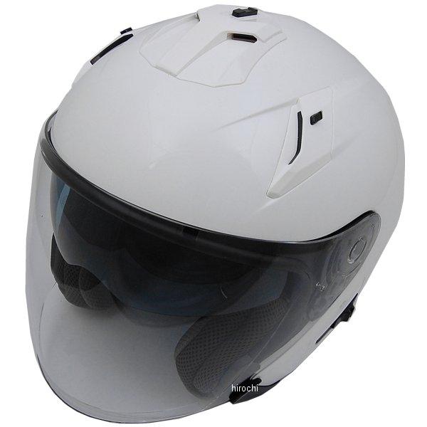 FH003 山城 フィオーレ FIORE TURISMO ジェットヘルメット 白 Mサイズ 4547544044450 HD店