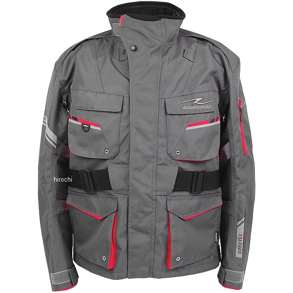 ラフ&ロード ゴアテックス SSF ツアラー ジャケットFP ガンメタ Mサイズ RR7102GM2 HD店