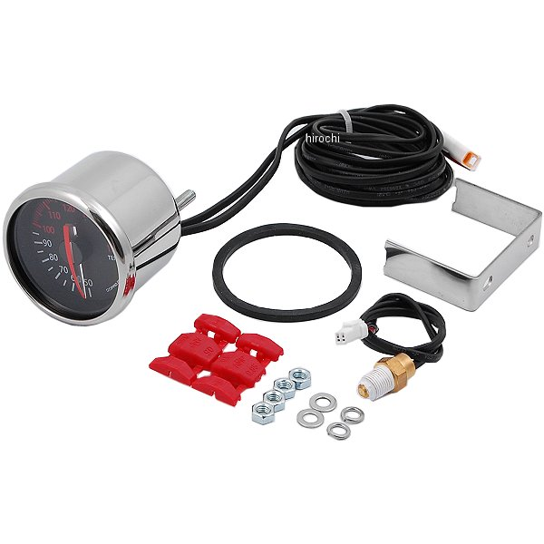 Nプロジェクト NPROJECT 電気式アナログテンプメーター 52φ 黒パネル 14022 HD店