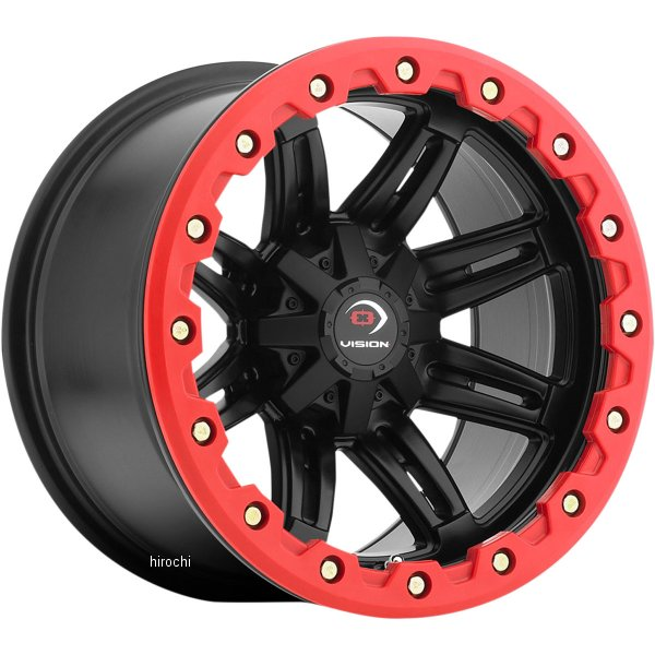 【USA在庫あり】 ビジョンホイール Vision Wheel ホイール 551 14X7 4/110 4+3 フロント 0230-0763 HD