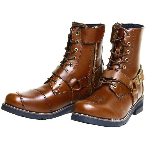 ワイルドウイング WILDWING ライディングブーツ 厚底ファルコン レディース ダークブラウン 24.5cm WWM-0001ATU HD店