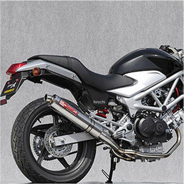ヤマモトレーシング フルエキゾースト 09年 VTR250FI 2-1 チタン 触媒付き 10260-61STC HD