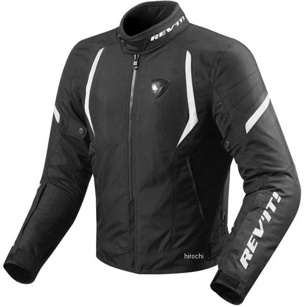 レブイット REVIT テキスタイルジャケット ジュピター2 男女兼用 黒/白 Lサイズ FJT219-1600-L HD店