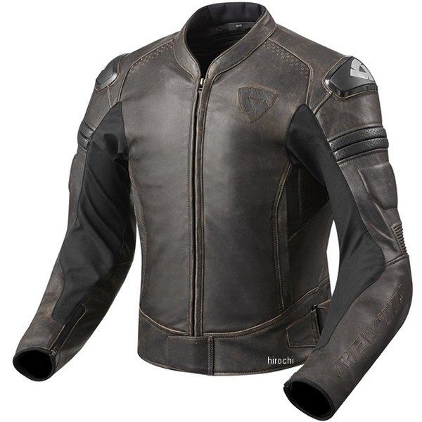 レブイット REVIT レザージャケット アキラヴィンテージ ダークブラウン M50サイズ FJL076-0780-M50 HD店