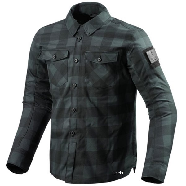 レブイット REVIT オーバーシャツ バイソン 男女兼用 ダークグレー/黒 XLサイズ FSO006-1150-XL HD店