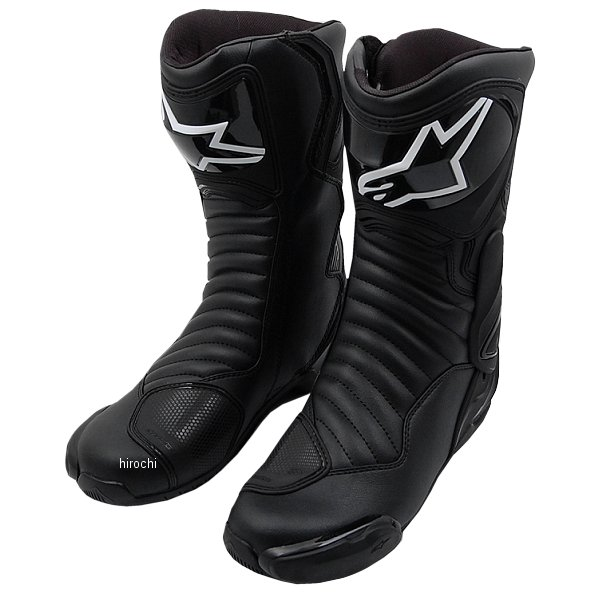 【メーカー在庫あり】 アルパインスターズ Alpinestars 春夏モデル ロードレーシングブーツ SMX-6 V2 黒/黒 42サイズ (26.5cm) 8021506617709 HD店
