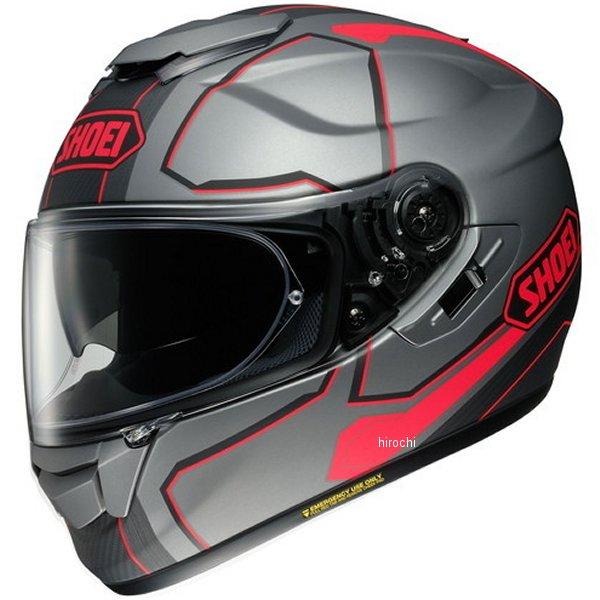 【メーカー在庫あり】 ショウエイ SHOEI フルフェイスヘルメット GT-Air PENDULUM ペンデュラム TC-1 グレー/赤 L Lサイズ(59cm) 4512048463045 HD店