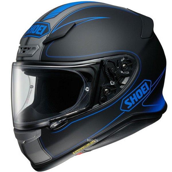 ショウエイ SHOEI フルフェイスヘルメット Z-7 FLAGGER フラッガー TC-2 青/黒 XXLサイズ(63cm) 4512048464424 HD店