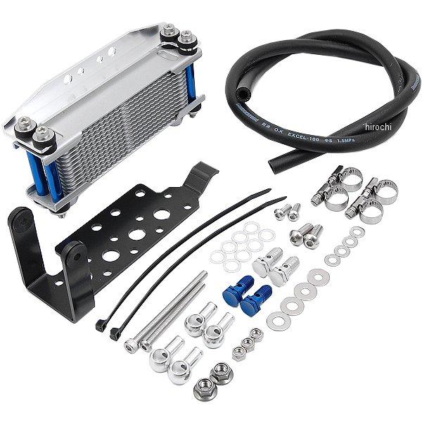 シフトアップ オリジナル12段オイルクーラーキット エイプ50、XR50R シルバー 201141-31 HD店