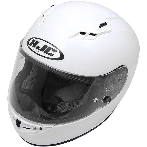 【メーカー在庫あり】 エイチジェイシー HJC フルフェイスヘルメット CS-15 ソリッド 白 Lサイズ(59-60cm) HJH113WH01L HD店
