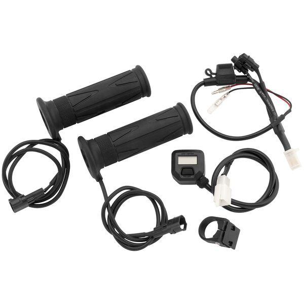 【USA在庫あり】 バイクマスター BikeMaster ヒートグリップ W/ LCD スイッチ 7/8インチ(22mm) 120 mm 266282 HD店