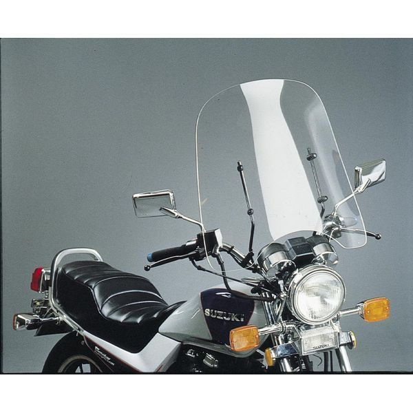 【USA在庫あり】 スリップ ストリーマー Slip Streamer CF50 ウインドシールド 24インチ 7/8インチ、1インチバー用 クリア 559050 HD
