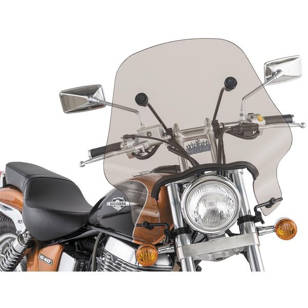 【USA在庫あり】 スリップ ストリーマー Slip Streamer ウインドシールド ヘルファイア 17インチ高 汎用 スモーク 559141 HD