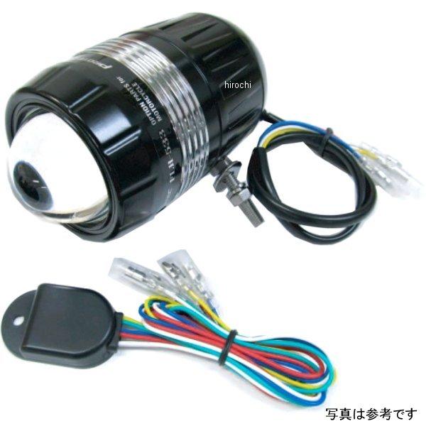プロテック PROTEC LEDドライビングライト FLH-535 DC12V 28W 6000K REVセンサー付き 遮光板有り 下ボルト 65535-D HD店
