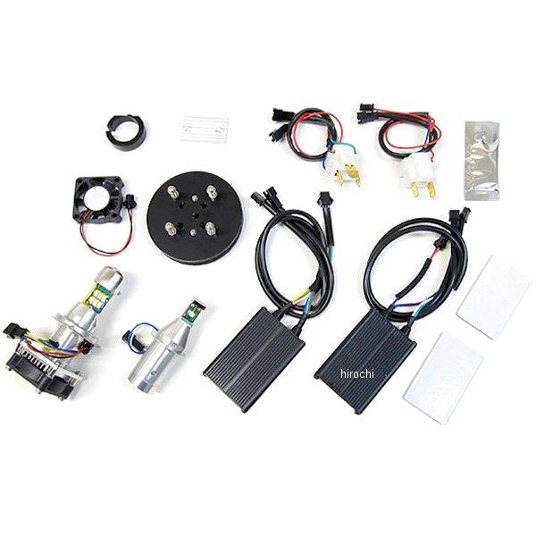プロテック PROTEC LEDヘッドライトバルブ 2灯キット 04年-14年 TMAX500、フェザー8 H7/H4 6000K 65006 HD店