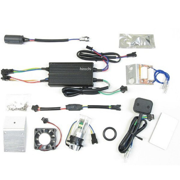 【メーカー在庫あり】 プロテック PROTEC LEDヘッドライトバルブ LB5-SC HS5 Hi/Lo 6000K スーパーカブ110(JA07)専用 65025 HD店