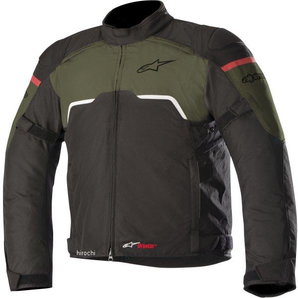 アルパインスターズ Alpinestars 秋冬モデル ジャケット HYPER DRYSTAR 黒/ミリタリーグリーン Lサイズ 8021506932260 HD店