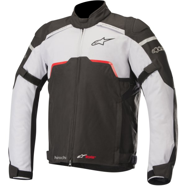 アルパインスターズ Alpinestars 秋冬モデル ジャケット HYPER DRYSTAR 黒/ミッドグレー Sサイズ 8021506938941 HD店