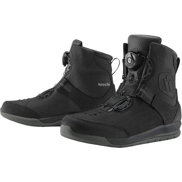 アイコン ICON 秋冬モデル ブーツ PATROL2 黒 12サイズ 30cm 3403-0894 HD店