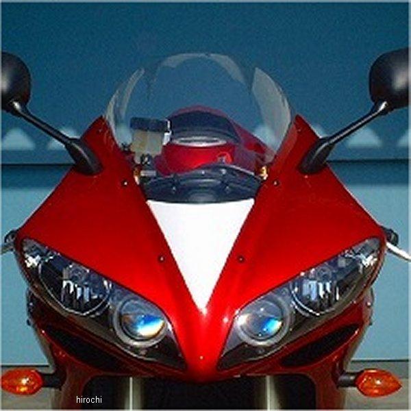 クレバーウルフ CLEVER WOLF GPスクリーン ノーマルカウル用 04年-06年 YZF-R1 クリア/赤 04R1-104-02 HD店