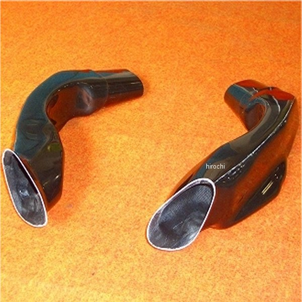 クレバーウルフ CLEVER WOLF エアーダクト 左右セット 05年-06年 スズキ GSX-R1000 黒 05G1-010-01 HD店