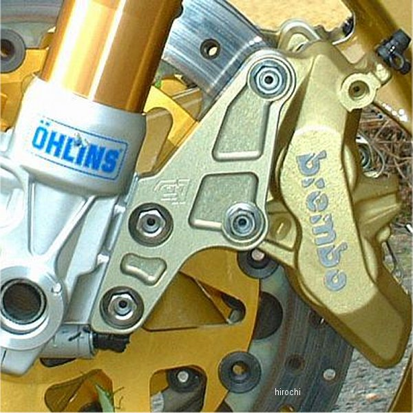 クレバーウルフ CLEVER WOLF キャリパーサポート オーリンズ正立用 φ320 ブレンボ65 CB1300SF、ZRX1200 CS65-ZRX320 HD店
