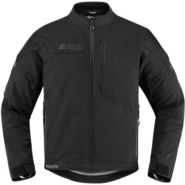 【USA在庫あり】 アイコン ICON 秋冬モデル ジャケット TARMAC 黒 4XLサイズ 2820-4030 HD店