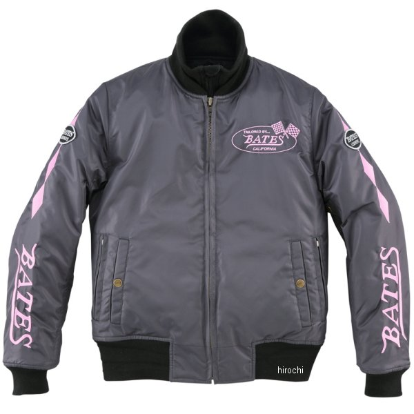 ベイツ BATES 秋冬モデル 防風ナイロンジャケット レディース グラファイト Lサイズ BJL-N1772S HD店