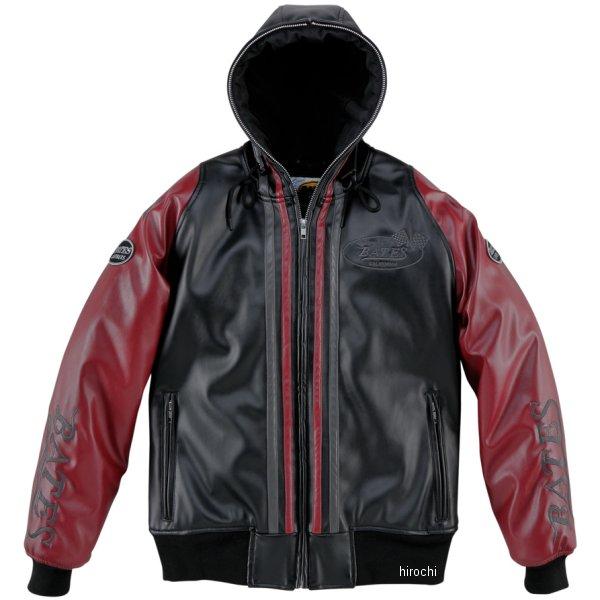 ベイツ BATES 秋冬モデル 合成皮革パーカー レディース 赤 Lサイズ BJL-F1773P HD店