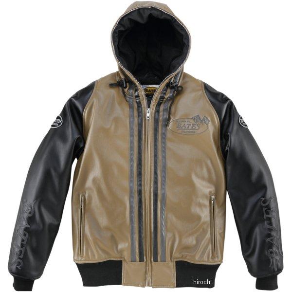 ベイツ BATES 秋冬モデル 合成皮革パーカー レディース サンド Lサイズ BJL-F1773P HD店