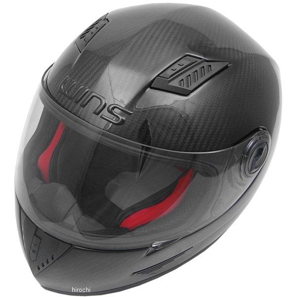 【メーカー在庫あり】 ウインズ WINS フルフェイスヘルメット A-FORCE カーボン/レッドインナー XLサイズ(59-60cm) 4560385765087 HD店