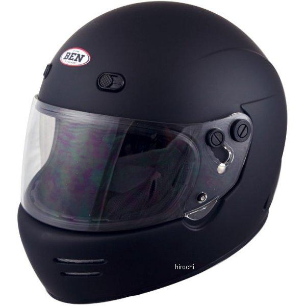 【メーカー在庫あり】 TNK工業 フルフェイスヘルメット B-70 ヴィンテージスポーツヘルメット マットブラック フリーサイズ (58-59未満) 4984679512261 HD
