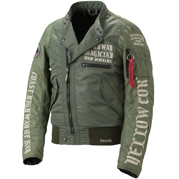 イエローコーン YeLLOW CORN 秋冬モデル ウインタージャケット カーキ Mサイズ YB-7301 HD店
