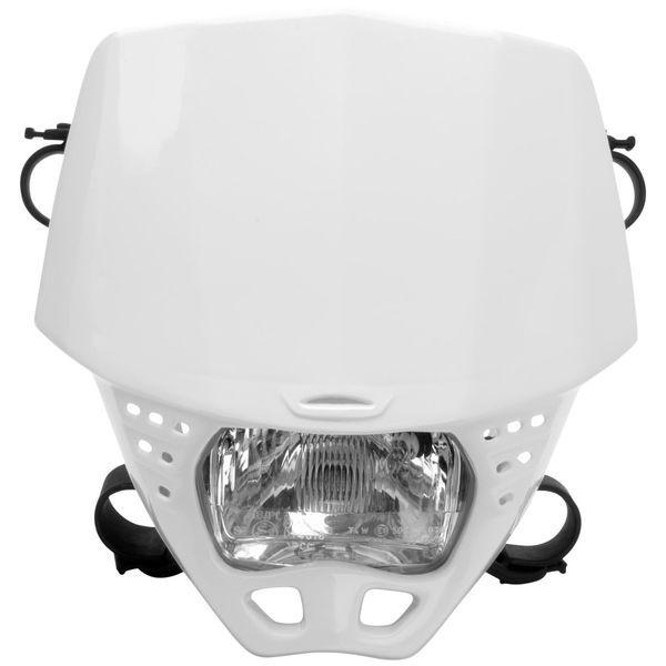 【USA在庫あり】 ユーフォープラスト UFO PLAST ヘッドライト クルーザー 白 115850 HD店