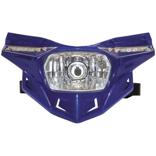 【USA在庫あり】 ユーフォープラスト UFO PLAST ヘッドライトセット ステルス 青 117368 HD店