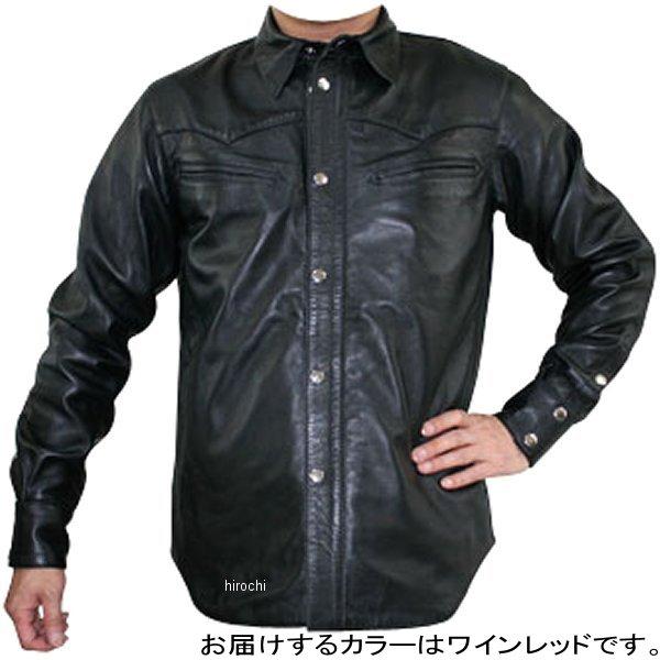 モトフィールド MOTO FIELD レザージャケット ワインレッド Sサイズ MF-LJ115 HD店