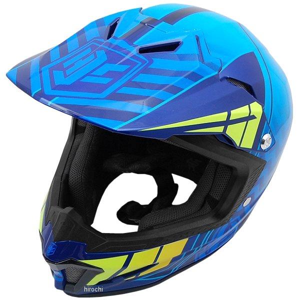 エイチジェイシー HJC オフロードヘルメット CL-XYクロスアップ 子供用 青 Mサイズ(51-52cm) HJH099BU01M HD店