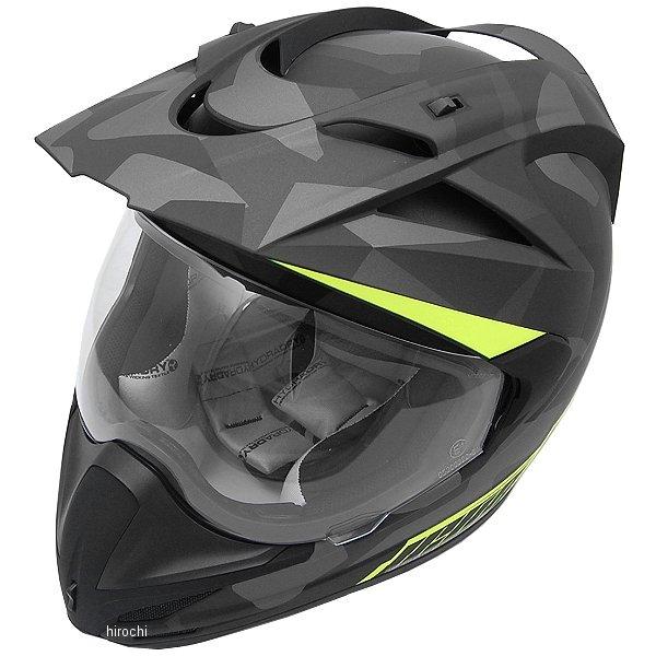 【USA在庫あり】 アイコン ICON ヘルメット バリアント デプロイド 黒 2XLサイズ (63cm-64cm) 0101-9162 HD店