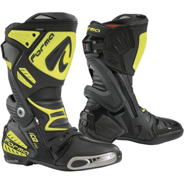 フォーマ FORMA オンロードブーツ ICE PRO 黒/蛍光イエロー 45サイズ(28.0cm) 8052998013274 HD店