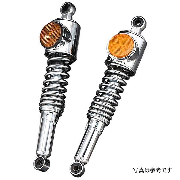 ピーエムシー PMC 純正強化タイプ リアショック 72年-75年 Z1、Z2 メッキ/オレンジ 109-111 HD店