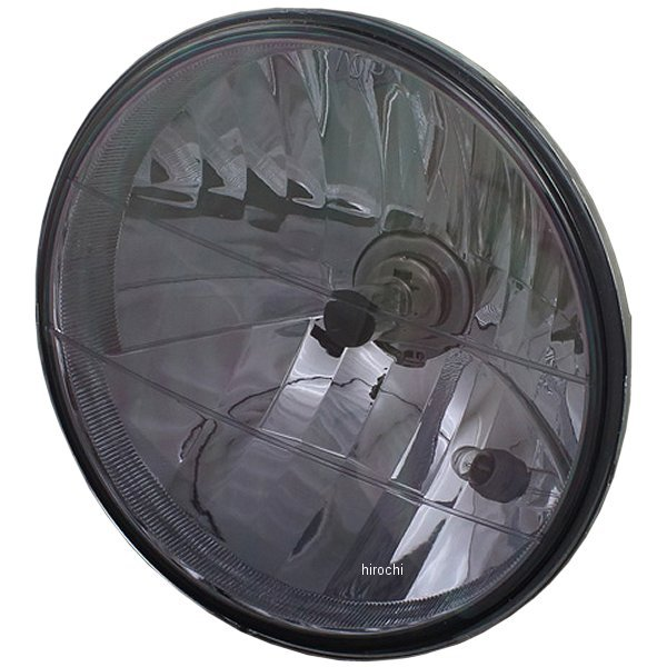 【メーカー在庫あり】 ピーエムシー PMC ライトキット リム カワサキケース S=726:LB 黒/モーク 71-0261 HD店