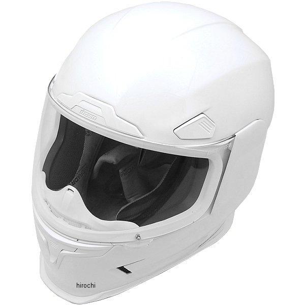 【USA在庫あり】 アイコン ICON フルフェイスヘルメット Airframe Pro 白 Lサイズ (59cm-60cm) 0101-8033 HD店