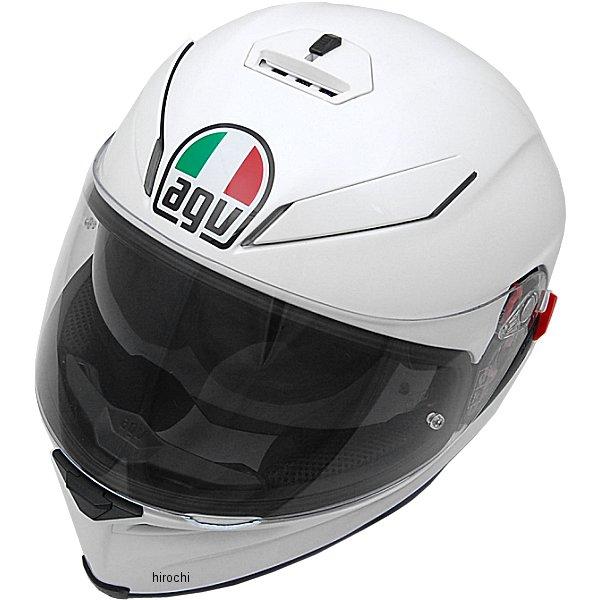 エージーブイ AGV フルフェイスヘルメット K-5 S SOLID パールホワイト Lサイズ (59-60cm) 004194HF-005-L HD店